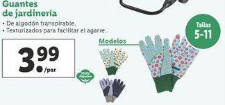 Oferta de Guantes de jardinería  por 3,99€