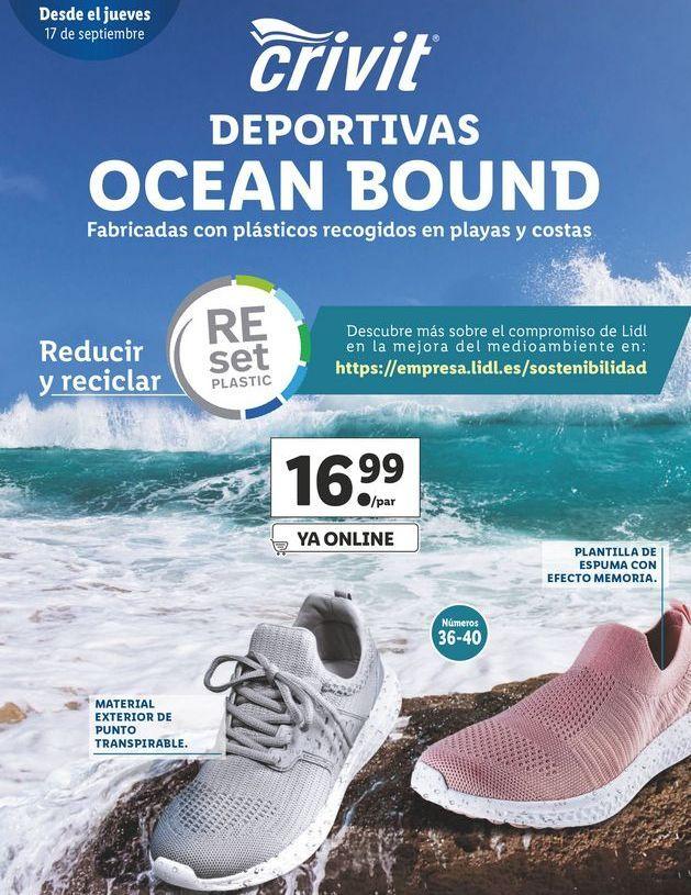 Oferta de Deportivas Crivit Beach por 16,99€
