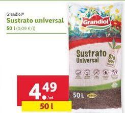 Oferta de Sustrato universal grandiol por 4,49€