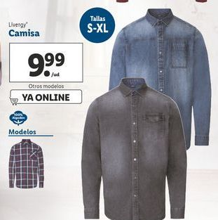 Oferta de Camisa Livergy por 9,99€