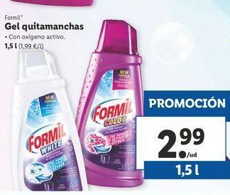 Oferta de Gel quitamanchas Formil por 2,99€