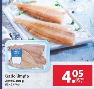 Oferta de Gallo limpio por 4,05€