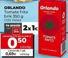 Oferta de Tomate frito brik 350g, Orlando por 0,5€
