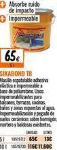 Oferta de Masilla sika por 65€