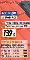 Oferta de Ventana de techo por 139€