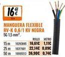 Oferta de Cables por 16,61€