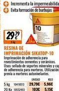 Oferta de Imprimación sika por 29,79€