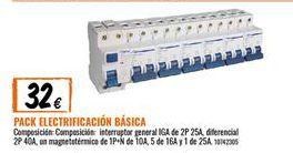 Oferta de Mecanismos eléctricos por 32€