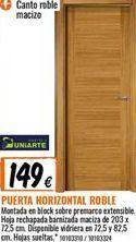 Oferta de Puertas por 149€