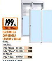 Oferta de Balconera por 199€