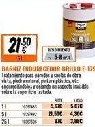 Oferta de Barniz por 21,5€