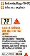 Oferta de Masilla sika por 7,05€
