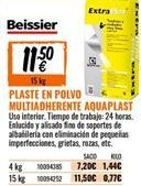 Oferta de Plaste para alisar Beissier por 11,5€