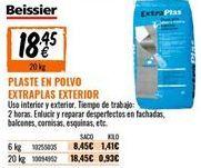 Oferta de Plaste para alisar Beissier por 18,45€