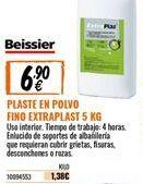 Oferta de Plaste para alisar Beissier por 6,9€