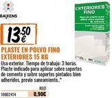 Oferta de Plaste para alisar por 13,5€