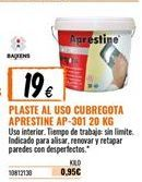 Oferta de Plaste para alisar por 19€