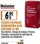 Oferta de Plaste para alisar Beissier por 6,95€