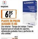 Oferta de Plaste para alisar por 6,95€