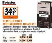 Oferta de Plaste para alisar Beissier por 34,5€