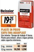 Oferta de Plaste para alisar Beissier por 19,25€