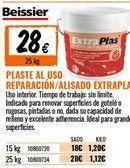 Oferta de Plaste para alisar Beissier por 28€