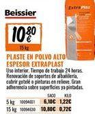 Oferta de Plaste para alisar Beissier por 10,8€