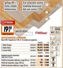 Oferta de Revestimientos por 19,98€