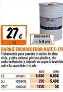 Oferta de Barniz por 27€