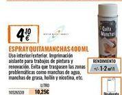 Oferta de Quitamanchas por 4,1€
