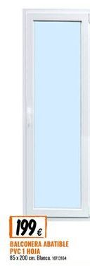 Oferta de Balconera de PVC por 199€