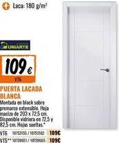 Oferta de Puerta lacada por 109€