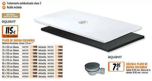Oferta de Plato de ducha por 115€