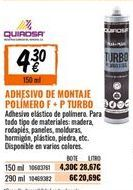 Oferta de Adhesivo de montaje por 4,3€