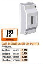 Oferta de Mecanismos eléctricos por 1,93€
