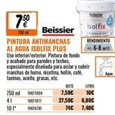 Oferta de Pintura antimanchas Beissier por 7,9€