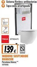 Oferta de Inodoro Teka por 139€