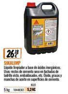 Oferta de Limpiadores sika por 26,18€