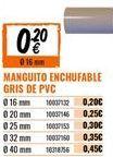 Oferta de Tuberías por 0,2€