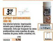 Oferta de Quitamanchas por 3,9€
