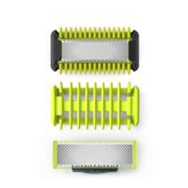 Oferta de Recambio de cuchillas Philips OneBlade Cara + Cuerpo Kit por 20,49€