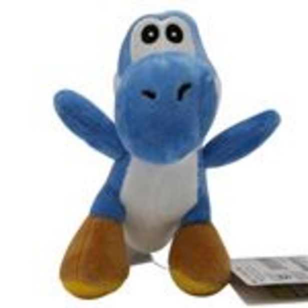 Oferta de Peluche Super Mario, Yoshi Dinosaure Bleu 11cm por 15,99€