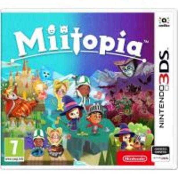 Oferta de Miitopia Nintendo 3DS por 25,89€
