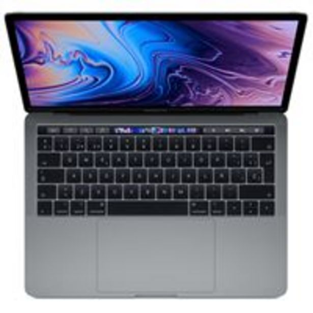 "Oferta de Apple  MacBook Pro 13"" i5 2,4GHz 8/512GB TouchBar Gris Espacial por 1749€"