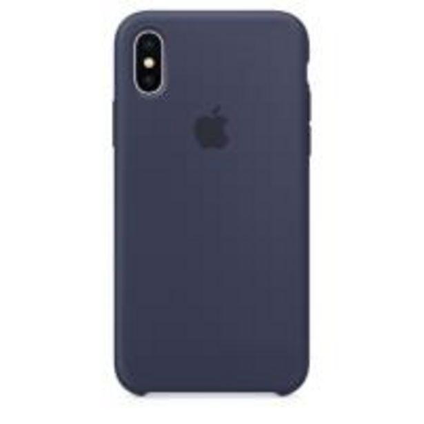 Oferta de Funda Apple Silicone Case Azul noche para iPhone X por 31,18€