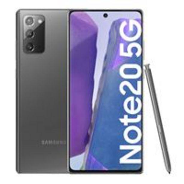 Oferta de Samsung Galaxy Note 20 5G 6,7'' 256B Gris por 962€