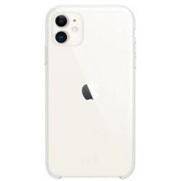 Oferta de Funda Apple Clear Case Transparente para iPhone 11 por 36,79€