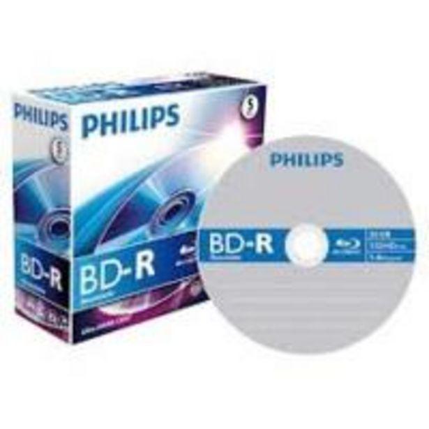Oferta de Philips BD-R BR2S6J05C  5 BD-RE vírgenes por 9,09€