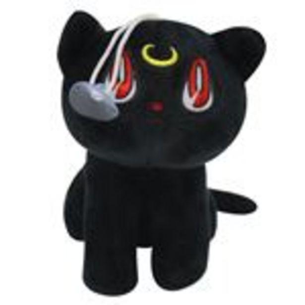 Oferta de Peluche Sailor moon, Chat Luna Noir 18cm por 15,99€