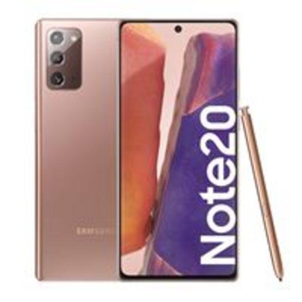 Oferta de Samsung Galaxy Note 20 6,7'' 256GB Bronce por 855€